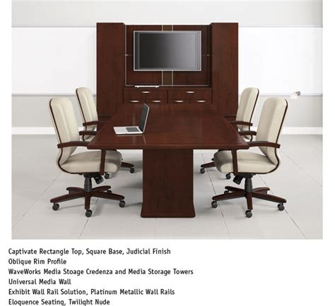 National Conference Table National Conference Table National Conference Table Denmark Series 8 Foot Conference Table