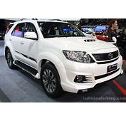 2014 Toyota Fortuner – Pictures Information And Specs