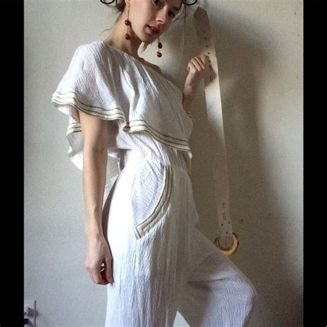 Jumpsuit Tiffani 96 vintage vintage americana pantsuit tiffani all white from erika s closet on