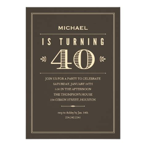 Mens 40th Birthday Cards 40th Birthday Quotes For Men Quotesgram
