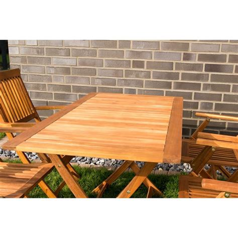 tavoli giardino pieghevoli tavolo e sedie con braccioli da giardino in legno pieghevoli
