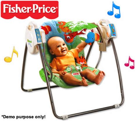 fisher price take along rainforest swing fisher price rainforest open top take along swing crazy
