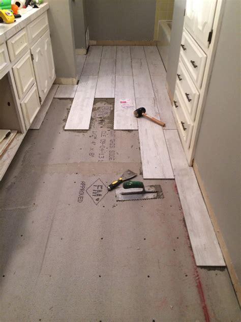 laying bathroom tile laying wood floor in bathroom thefloors co