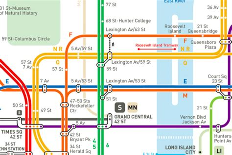 map subway new york city a reimagined nyc subway map now with a more accurate