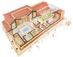 Roman Domus Floor Plan Roman House Layout Places Pinterest
