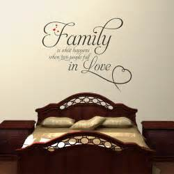 Family Wall Sticker Family Is What Happens When Two People Fall In Love 2 Wall