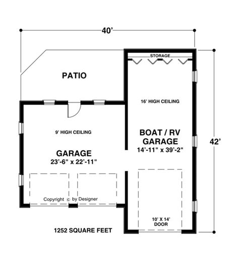 rv garage floor plans real houseboats plan of house blueprints youly