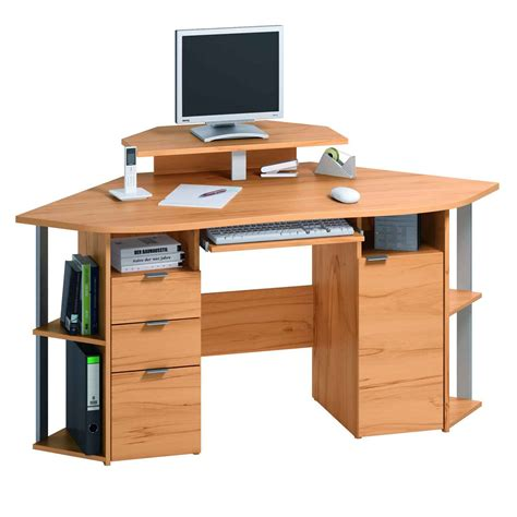small desk with drawers for computer small corner computer desk for home with drawers and