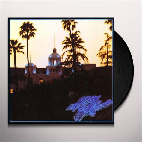 California Record The Eagles And Glenn Frey Hotel California Vinyl Record
