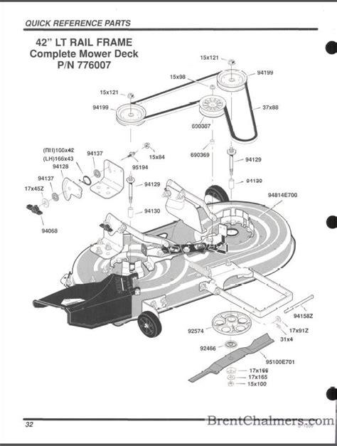 murray lawn mower deck parts diagram murray mower deck belt diagram efcaviation
