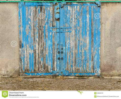 Blue Barn Door Blue Barn Door Stock Photo Image Of Photography 58892276