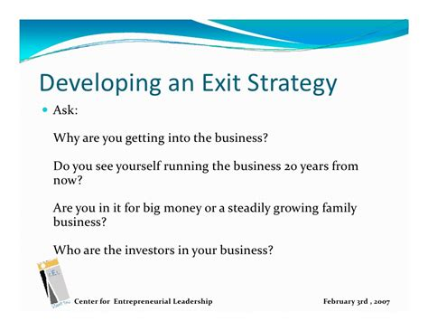business exit strategy template how to write an executive summary for your business plan