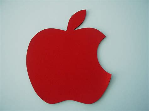 Mouse Pad Apple apple shape rubber mouse pad guangzhou supergo plastics manufacturing limited