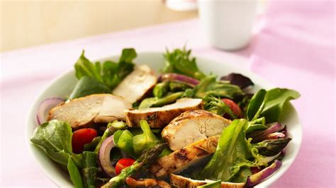 grilled chicken garden salad recipe from betty crocker