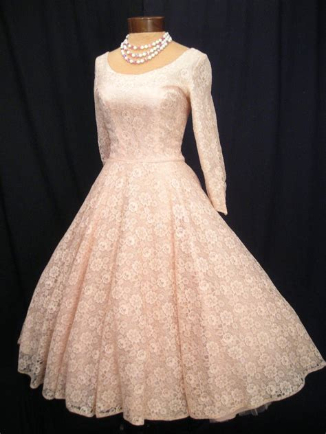 Vintage 50 S Wedding Dresses 50 s dress 1950s vintage special occasion wear vintage