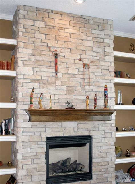 Natural Textured Stone Wall Accents For Rustic Look Home