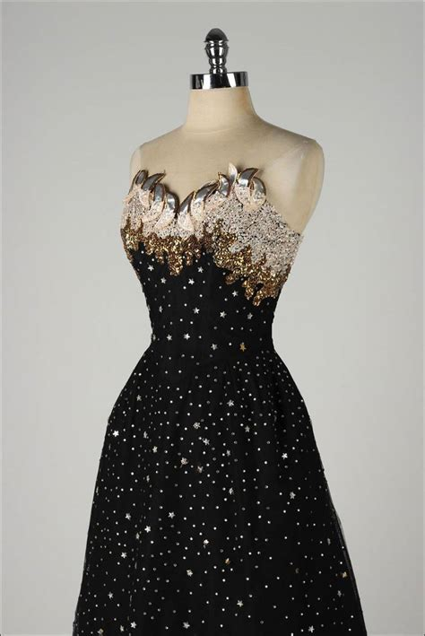 1950 s vintage cocktail dresses vintage 1950 s rudolf rhinestones cocktail dress at