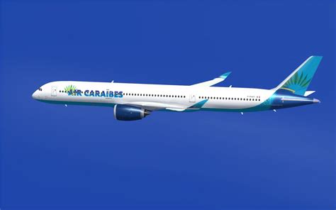 air caraibes airbus a350 1000 xwb v2 for fsx