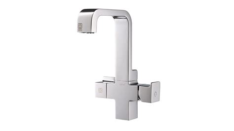 aqua touch white kitchen faucet