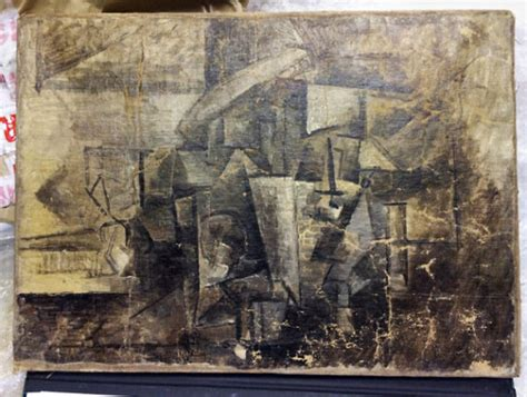 picasso paintings lost stolen picasso shipped as present seized in