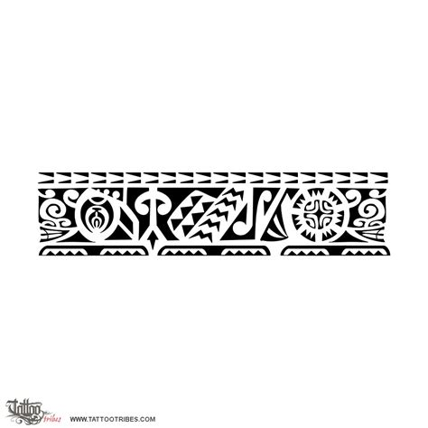 hawaiian tribal armband tattoos putui persistent this armband requested by carlo takes