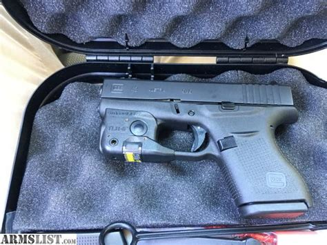 light for glock 43 armslist for sale glock 43 with light and laser