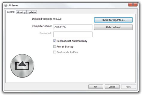airserver windows airserver comprehensive mac pc airplay suite with