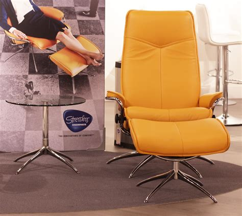 The Stressless High Back Leather stressless stressless city high back clementine leather by ekornes stressless