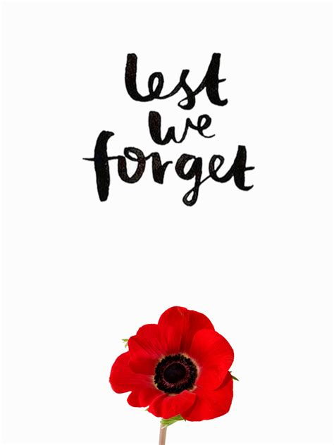 Lest We Forget by Lest We Forget All Saints Catholic Elementary School