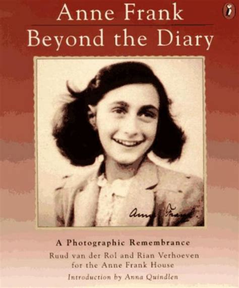 anne frank graphic biography anne frank beyond the diary a photographic remembrance by