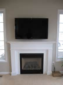 Fireplace Mantel Ideas With Tv by How To Get The Proper Fireplace Mantel Height For The Sake