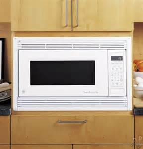 Under Cabinet Microwave Mounting Kit Ge Jx827dfbb 27 Quot Deluxe Built In Trim Kit Black
