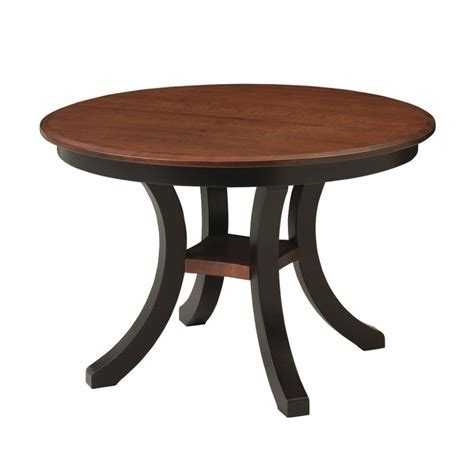 Harrison Round Table Solid Hardwood Furniture Hershey