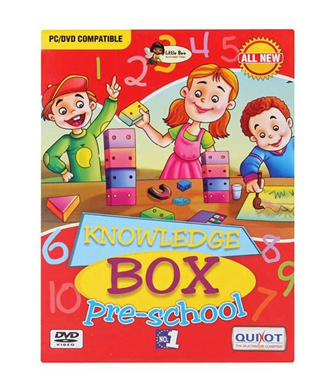 knowledge box quixot knowledge box pre school dvd buy quixot knowledge