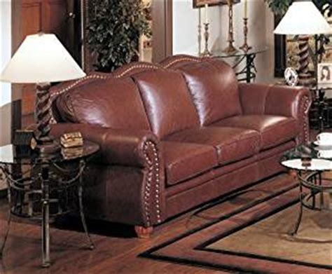 Amazon Com Cognac Finish 100 Real Italian Leather Sofa Real Italian Leather Sofa