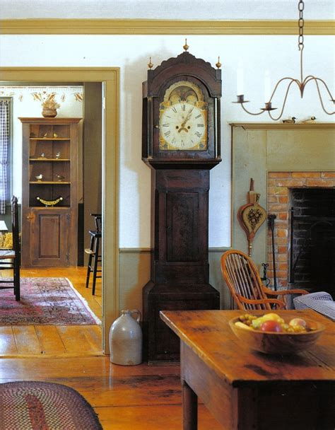 colonial style decorating ideas home eye for design decorating in the primitive colonial style