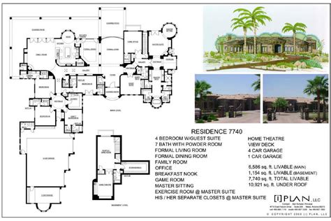 10 000 sq ft house plans 10 000 sq ft home floor plans