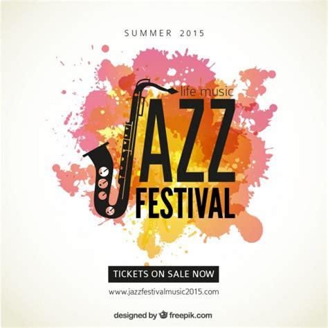 Plakat Quellenangaben by Jazz Festival Plakat Der Kostenlosen Vektor