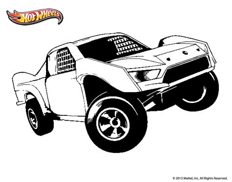 Desenho de Hot Wheels Ford para Colorir   Colorir.com