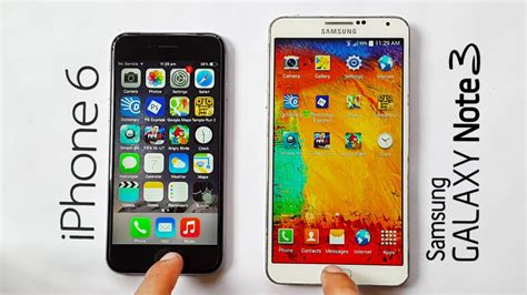 iphone   samsung galaxy note  speed test youtube