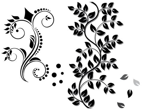 Floral Ornament Vector Free Download   123Freevectors