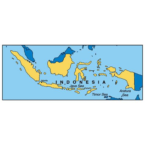 indonesia map vector free vector map of indonesia at vectorportal