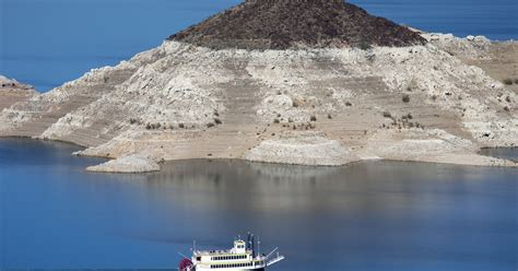 Lagie Mede lake mead sinks to record low risking water shortage