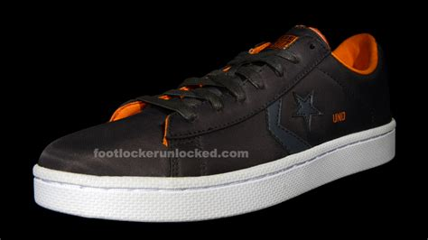 Jam Converse Leather Orange foot locker unlocked