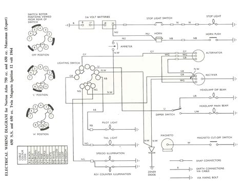 dans motorcycle  wiring systems  diagrams