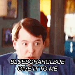 Matthew Broderick Didnt Want by Matthew Broderick Also Text Is Big Am I Doing Gif