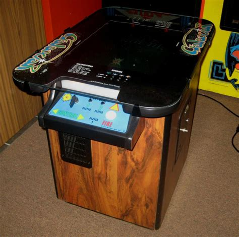 cocktail arcade cabinet sale midway galaxian cocktail arcade with six