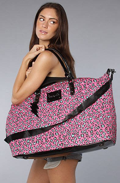 Betsey Johnson Time by Betsey Johnson The Betseyville Cheetah Time Weekender In
