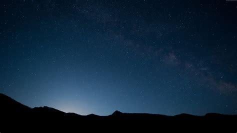 Wallpaper Sky, 4k, 5k wallpaper, 8k, stars, mountains