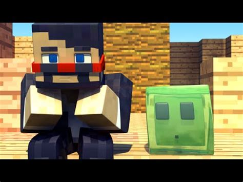 captainsparklez jerry rip jerry the slime minecraft animation youtube